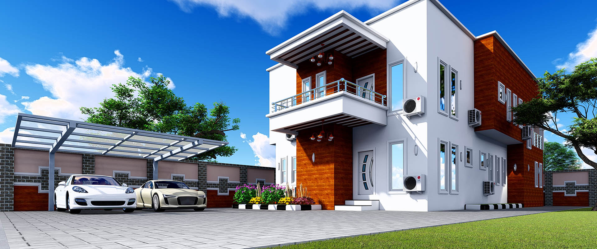 Structural design by Upline Works - Top architectural company in Nigeria